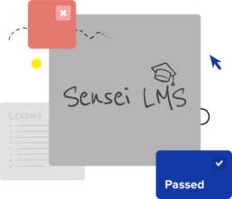 sensei lms website